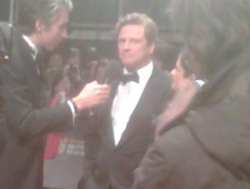 Colin Firth BAFTAs 2010
