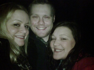 Beth Squires, Sam Unsted, Elly Horsler NYE 2010