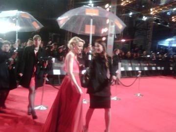 Emma Stone at BAFTAs 2011
